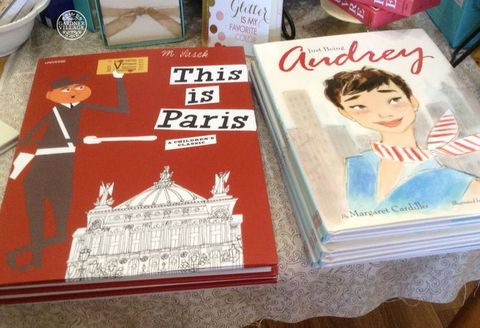 Lulu's Boutique - This is Paris and Audrey Hepburn books
