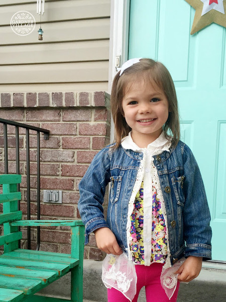 Spoiled Rotten Children's Boutique - Toddler modeling