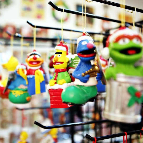 Celebrations by Modern Display - Sesame Street ornaments