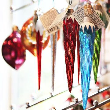 Celebrations by Modern Display - Colored icicles ornament