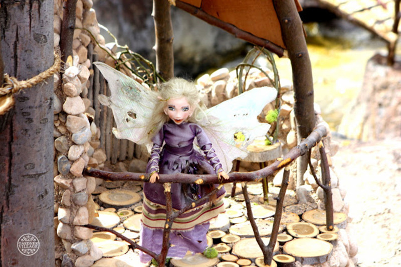 Woodland Fairies at Gardner Village - Woodland fairies