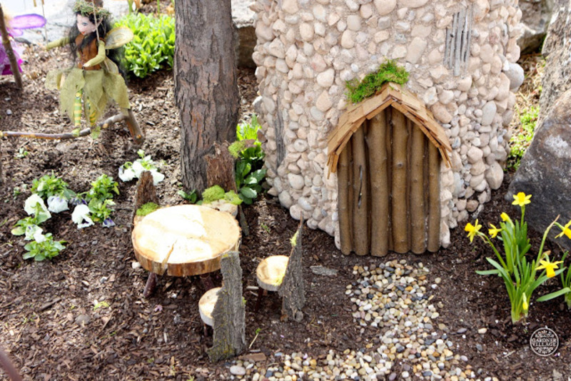 Woodland Fairies at Gardner Village - Fairy house at Gardner Village