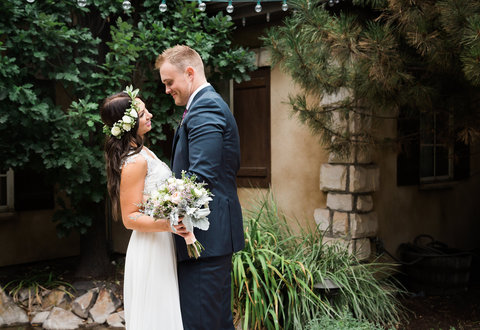 The Gathering Place Weddings & Receptions - utah bride and groom