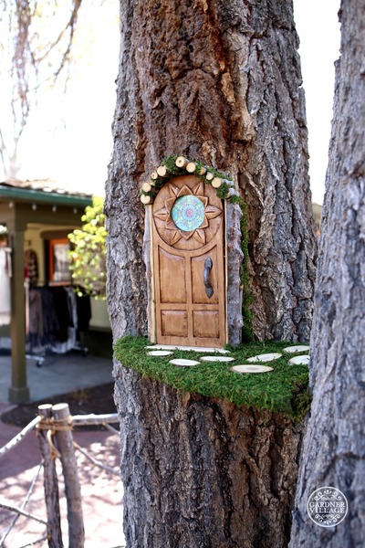 Woodland Fairies at Gardner Village - Fairy home and garden
