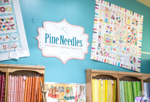 Pine Needles Quilt and Fabric Store - Pine Needles at Gardner Village