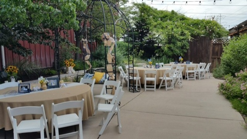 The Gathering Place Weddings & Receptions - outdoor reception venue