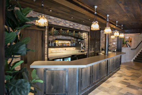 Gardner Village - Cellar room bar