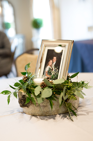 The Gathering Place Weddings & Receptions - Wedding center piece