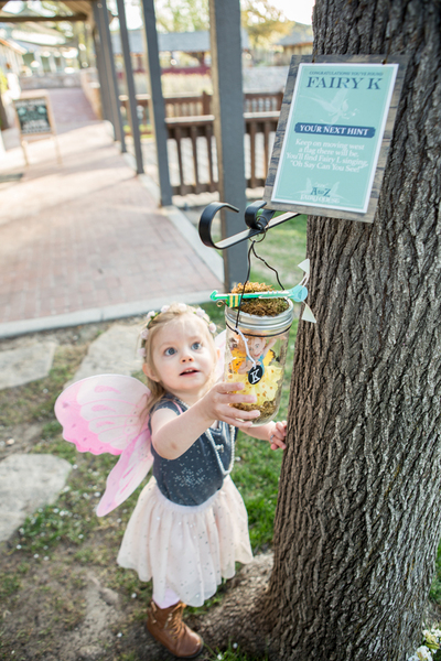 Woodland Fairy Festival at Gardner Village - a to z fairy quest