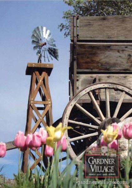 Gardner Village - Wind Mill at Gardner Village