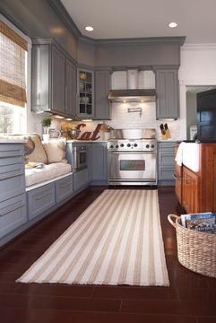 CF Home Rugs - Striped kitchen rug