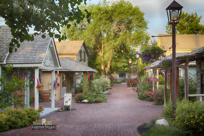Gardner Village - Gardner Village Main Path