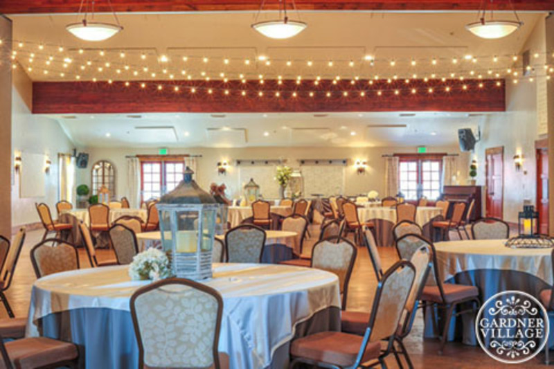 The Gathering Place at Gardner Village - the grand ballroom at the gathering place at gardner village