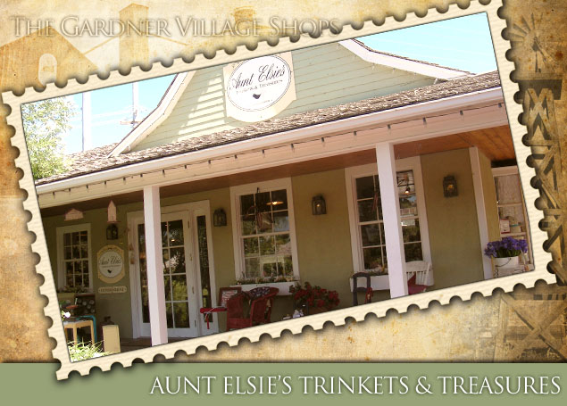 Aunt Elsie's Trinkets at Gardner Village