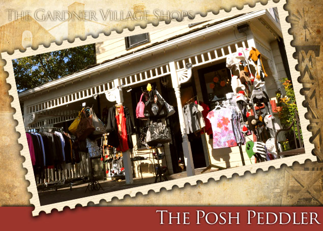 Posh Peddler at Gardner village