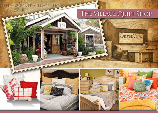 Village Quilt Shop at Gardner Village