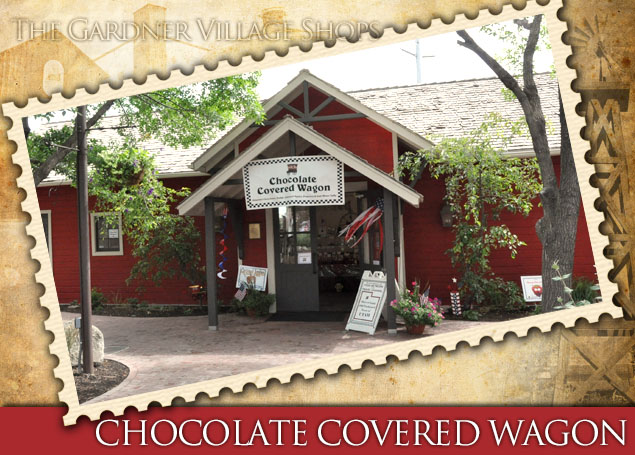 chocolate covered wagon candy store