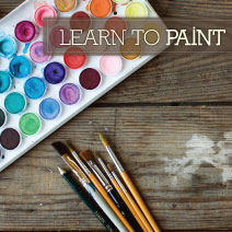 PAINTING CLASSES AT THE ART COTTAGE AT GARDNER VILLAGE