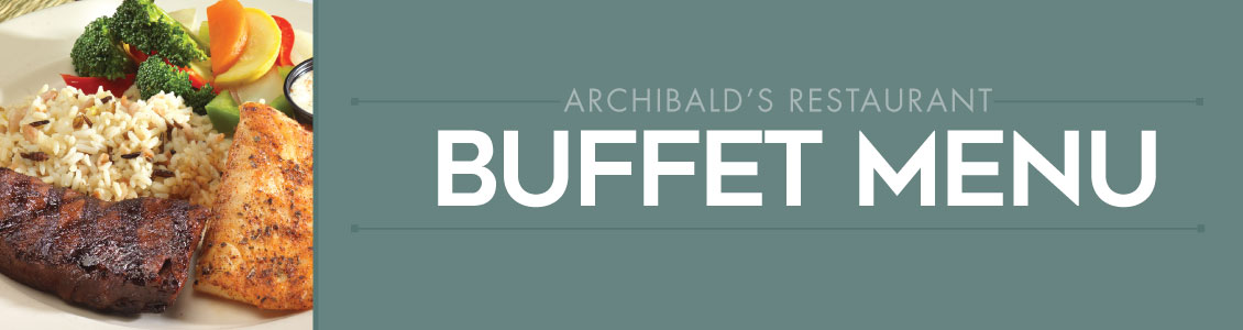 archibalds buffet menu