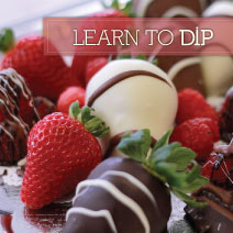 CHOCOLATE AND CANDY CLASSES AT CHOCOLATE COVERED WAGON AT GARDNER VILLAGE