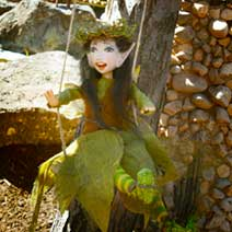 Fairy Displays at Gardner Village