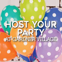 SUMMER PARTIES AND CAMPS <br> GARDNER VILLAGE