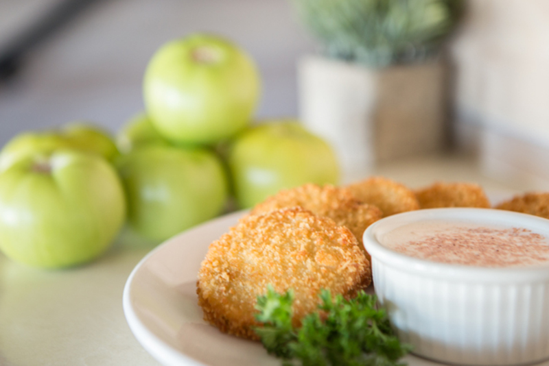 Famous fried green tomatoes recipe just in time for st patricks day the talented chef behind archibalds restaurant is giving us their famous recipe for fried green forumfinder Choice Image