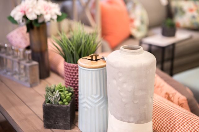 canister concrete vase