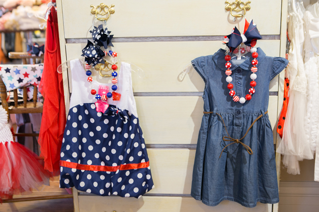 red white and blue childrens clothing