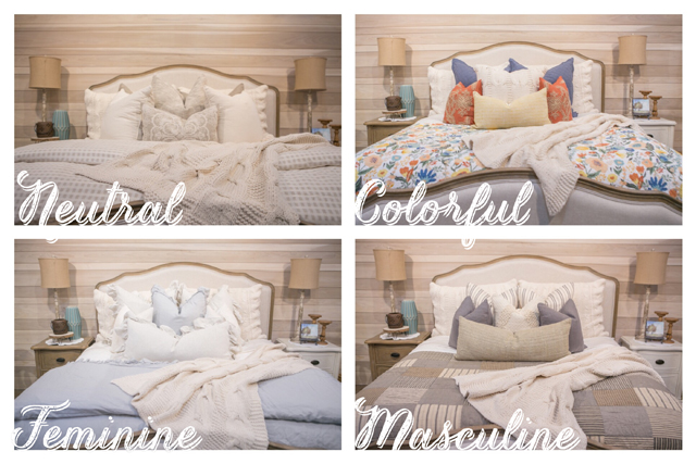 unique bed options masculine feminine colorful neutral