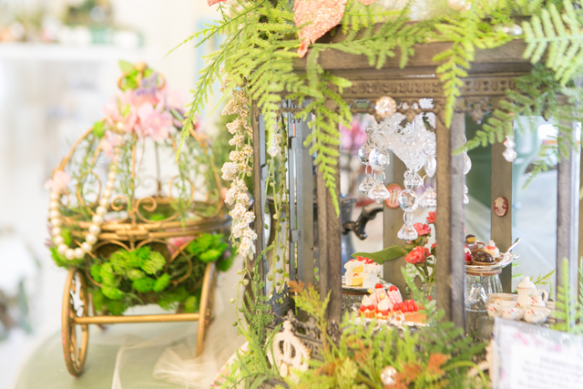 fairy house display Georgell Doll Shop