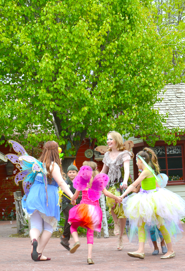 Fairy fashion at Gardner Village